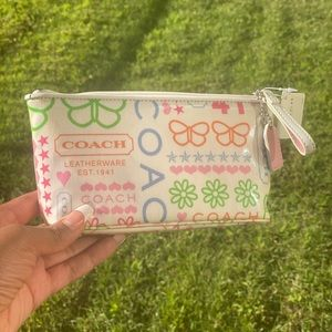 COACH makeup/ cosmetic case , NWT